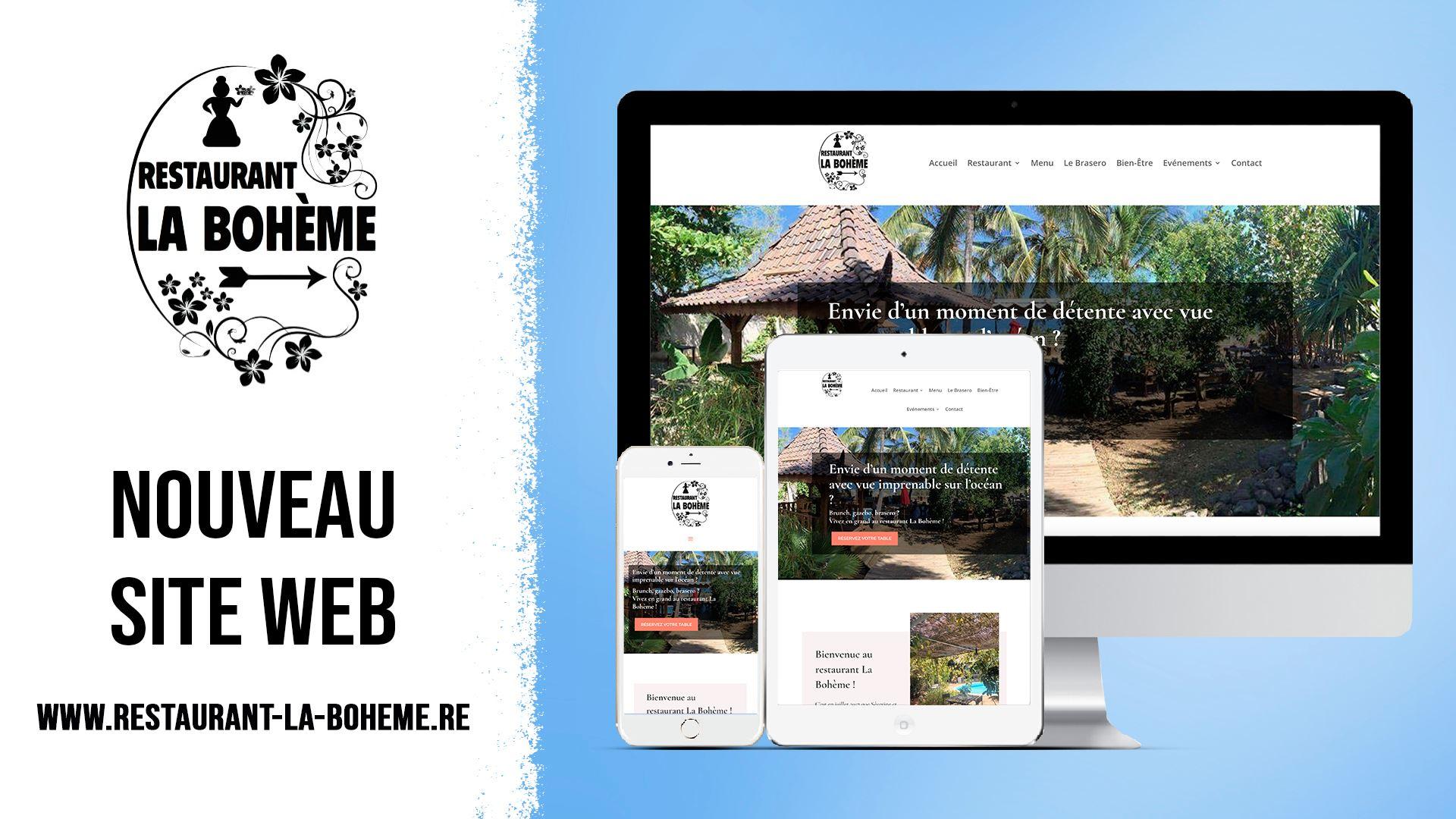 Site internet de La Bohème
