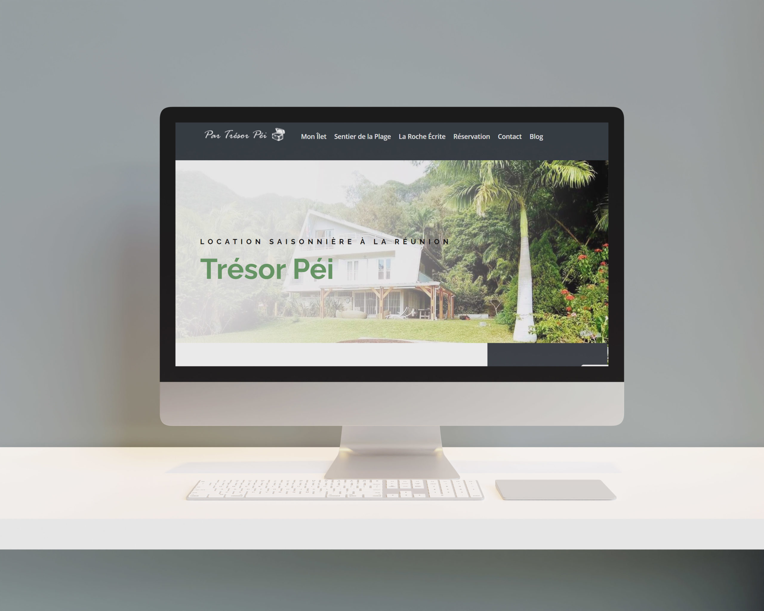 Site internet trésor péi
