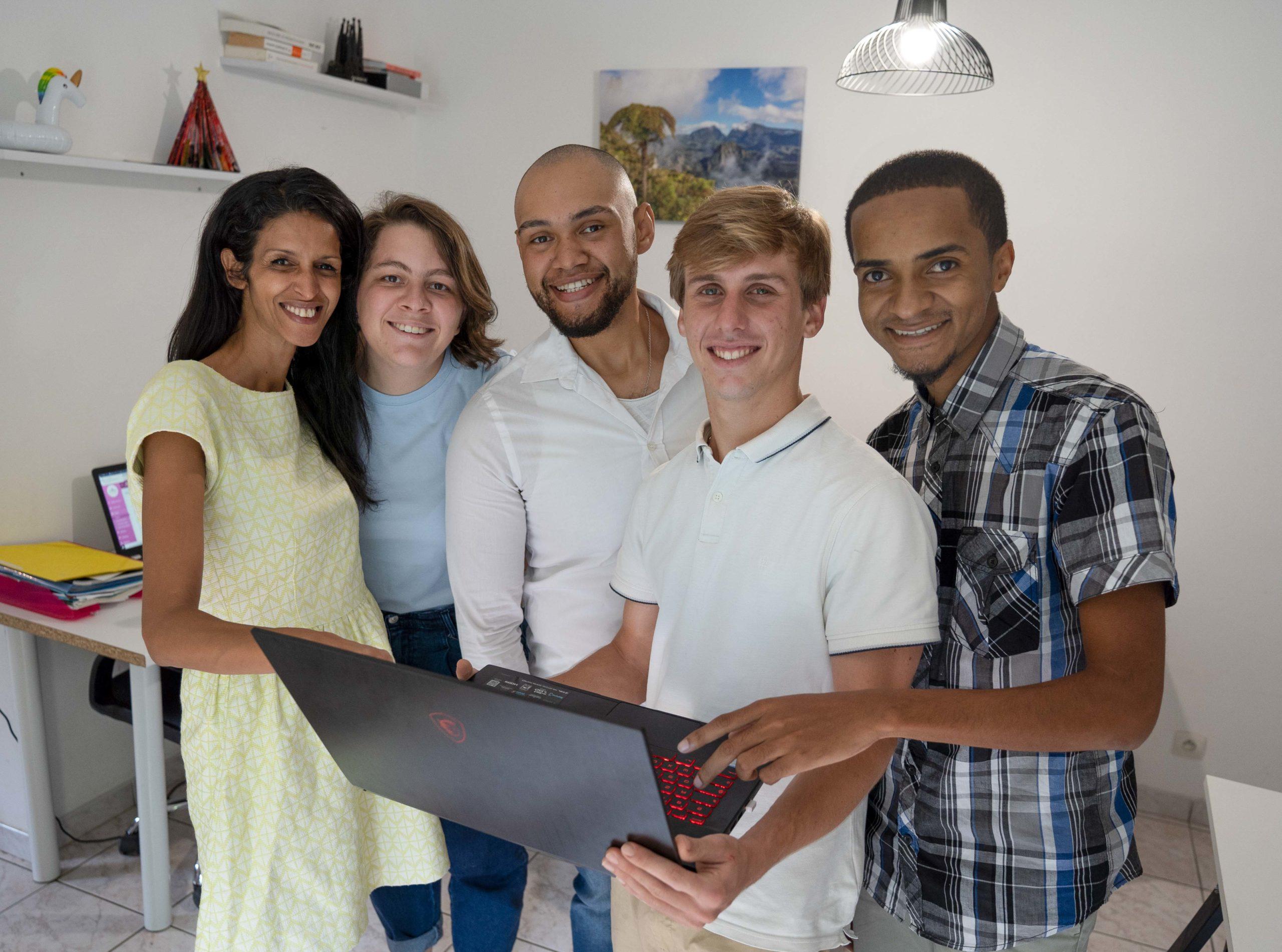 L'équipe JBI, Agence de communication La Réunion